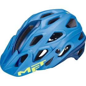 MET Lupo casco per bici blu